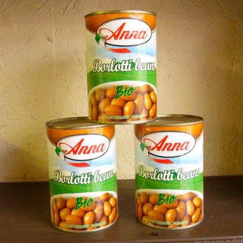 Anna Borlotti Beans - Organic - 2 x 400g