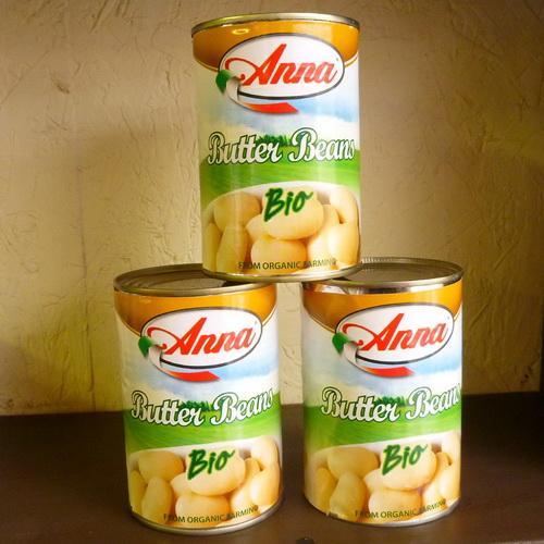 Anna Butter Beans - Organic - 2 x 400g