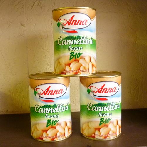 Anna Cannellini Beans - Organic - 2 x 400g