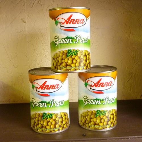 Anna Green Peas - Organic - 2 x 400g