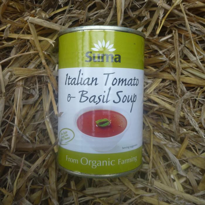 Organic Italian Tomato & Basil Soup 2 x 400g