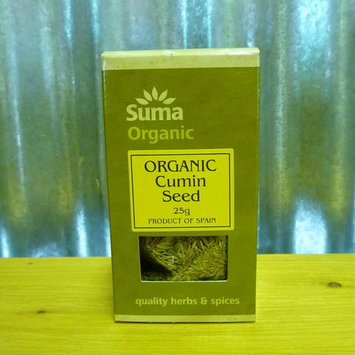 Organic Cumin Seed 25g