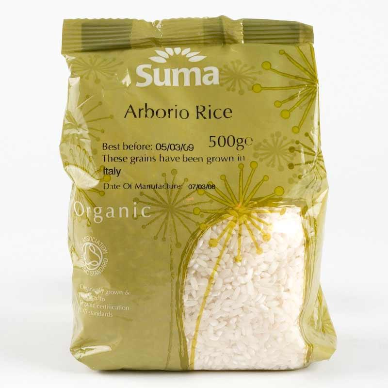 Suma Arborio Rice 500g. Organic