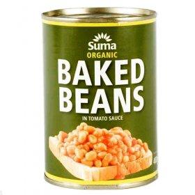 Suma Baked Beans - Organic - 4 x 400g