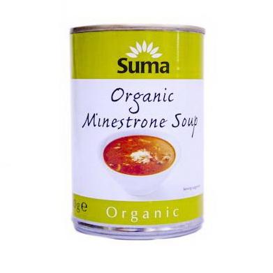 Organic Minestrone Soup 2 x 400g
